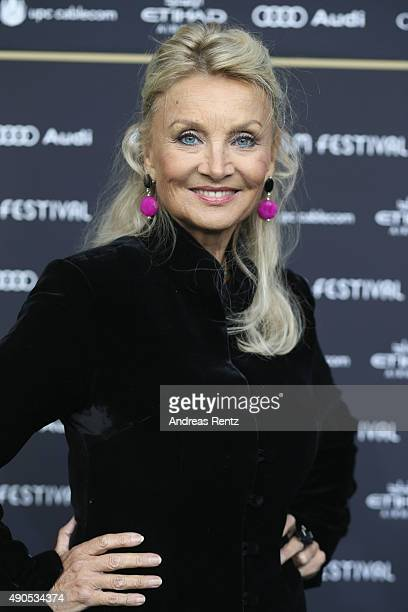 Actress Barbara Bouchet attends the 'Das Wetter In Geschlossenen Raeumen' Premiere during the Zurich Film Festival on September 29 2015 in Zurich...