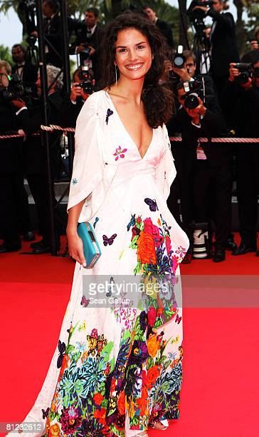 Actress Barbara Cabrita arrives for the Palme d'Or Closing Ceremony at the Palais des Festivals during the 61st International Cannes Film Festival on...