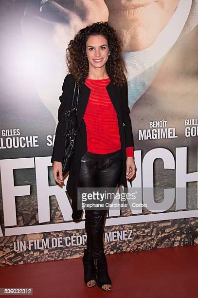 Actress Barbara Cabrita attends the 'La French' Paris premiere at Cinema Gaumont Capucine on November 25, 2014 in Paris, France.