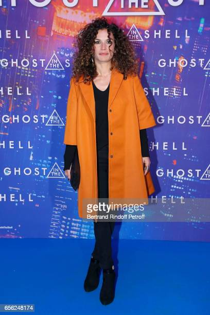 """Actress Barbara Cabrita attends the Paris Premiere of the Paramount Pictures release """"Ghost in the Shell"""". Held at Le Grand Rex on March 21, 2017 in..."""