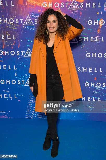 """Actress Barbara Cabrita attends the Paris Premiere of the Paramount Pictures release """"Ghost In The Shell"""" at Le Grand Rex on March 21, 2017 in Paris,..."""