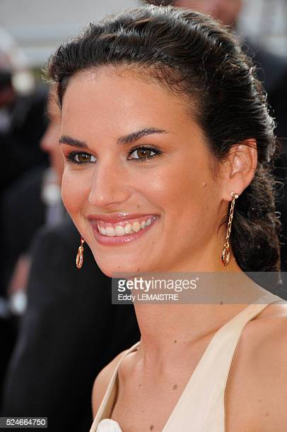 """Actress Barbara Cabrita attends the premiere of """"Synecdoche, New York"""" during the 61st Cannes Film Festival."""