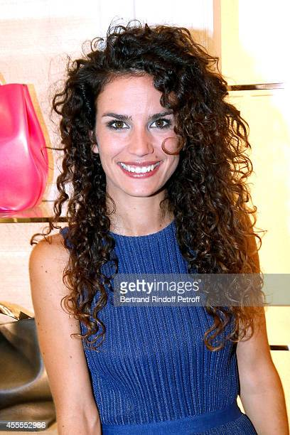 Actress Barbara Cabrita attends the 'Vogue Fashion Night Out 2014' at Dior, Rue Royale in Paris on September 16, 2014 in Paris, France.