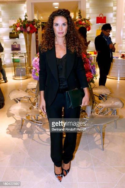 Actress Barbara Cabrita attends 'Vendanges Montaigne 2013' At Dior, Avenue Montaigne on September 12, 2013 in Paris, France.