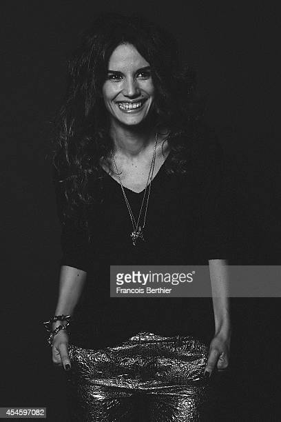 Actress Barbara Cabrita is photographed for Self Assignment on February 5, 2014 in Paris, France.