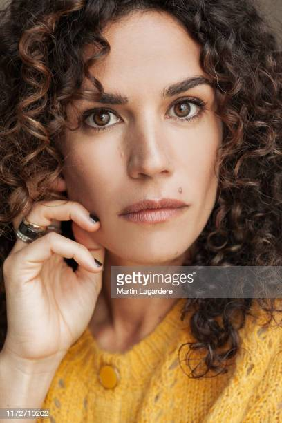Actress Barbara Cabrita poses for a portrait on February 24 2019 in Paris France