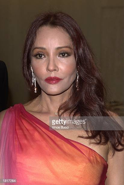 Actress Barbara Carrera attends the 16th Annual Imagen Awards June 14, 2001 in Beverly Hills, CA. The awards honor positive portrayals of Latinos and...