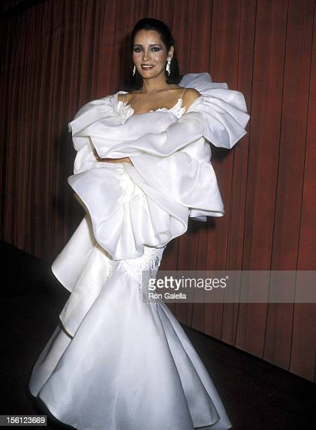 Actress Barbara Carrera attends the 43rd Annual Golden Globe Awards on January 24, 1986 at Beverly Hilton Hotel in Beverly Hills, California.