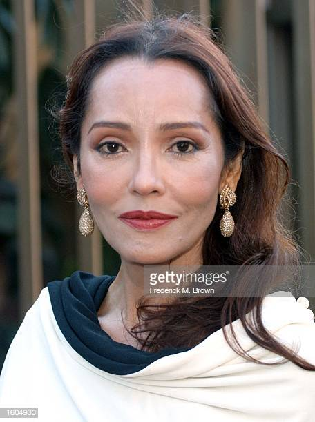 Actress Barbara Carrera attends the 5th Annual Los Angeles Latino International Film Festival July 28 2001 in Los Angeles CA