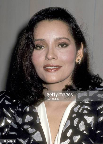 Actress Barbara Carrera attends the 'Welcome Home Vets' Concert Honoring the American Vietnam Veterans on February 24 1986 at The Forum in Los...