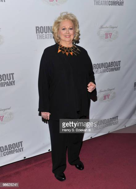 Actress Barbara Cook attends the opening night after party of Sondheim on Sondheim at Studio 54 on April 22 2010 in New York New York