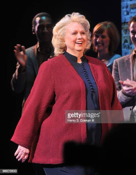 Actress Barbara Cook attends the opening of Sondheim on Sondheim at the Roundabout Theatre Company on April 22 2010 in New York City