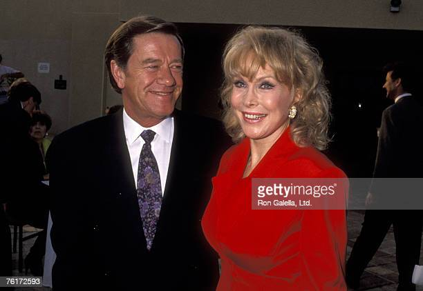 Actress Barbara Eden and husband Jon Eicholtz attend the American Foundation for the Performing Arts and Michael Bass Productions Presents 'A Tribute...