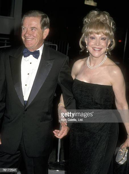 Actress Barbara Eden and husband Jon Eicholtz attend the Museum of Television and Radio Gala Honoring Steven Bochco and Kelsey Grammer on September...
