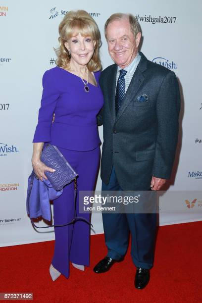 Actress Barbara Eden and husband Jon Eicholtz attends the MakeAWish Greater Los Angeles 2017 Wish Gala at Hollywood Palladium on November 9 2017 in...