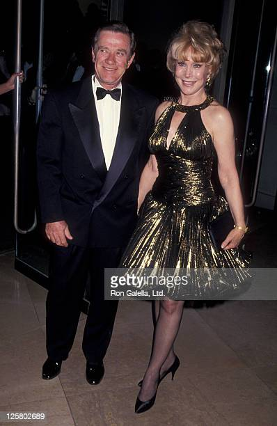 Actress Barbara Eden and John Eicholtz attend 46th Annual Writer's Guild of America Awards on March 13 1994 at the Beverly Hilton Hotel in Beverly...