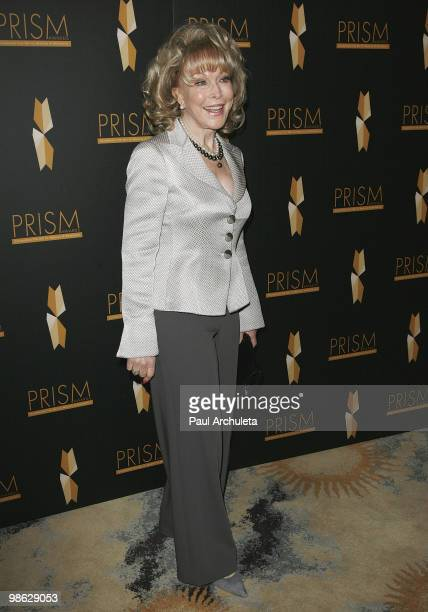 Actress Barbara Eden arrives at the 2010 PRISM Awards at Beverly Hills Hotel on April 22 2010 in Beverly Hills California