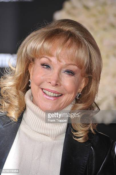Actress Barbara Eden arrives at the premiere of Valentine's Day held at Grauman's Chinese Theater