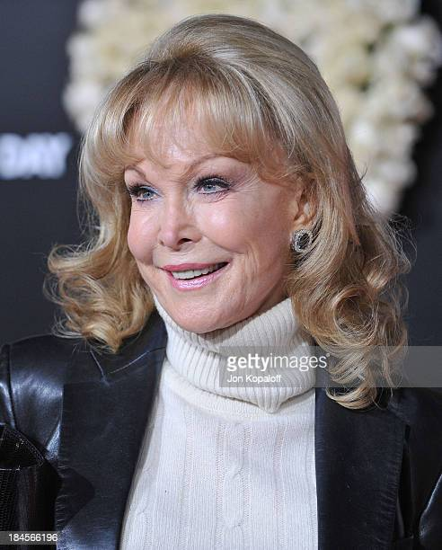 Actress Barbara Eden arrives to the Los Angeles Premiere Valentine's Day at Grauman's Chinese Theatre on February 8 2010 in Hollywood California