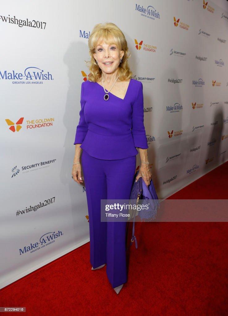 Actress Barbara Eden at the 2017 Make a Wish Gala on November 9, 2017 in Los Angeles, California.