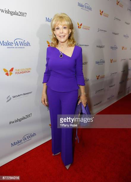 Actress Barbara Eden at the 2017 Make a Wish Gala on November 9 2017 in Los Angeles California