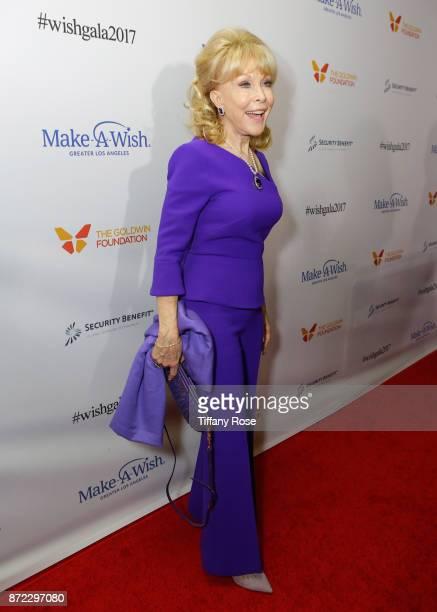 Actress Barbara Eden at the 2017 Make a Wish Gala on November 9 2017 in Los Angeles California