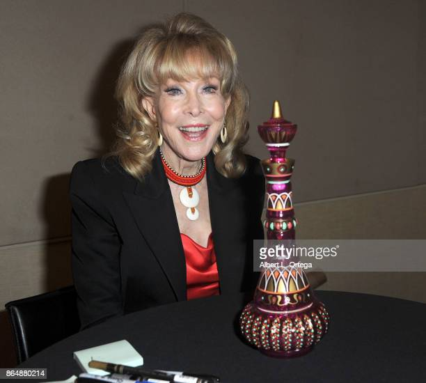 Actress Barbara Eden at The Hollywood Show held at Westin LAX Hotel on October 21 2017 in Los Angeles California