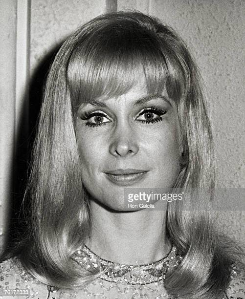 Actress Barbara Eden attending the premiere of 2001 A Space Odyssey on April 4 1968 at the Warner Cinerama Theater in Hollywood California