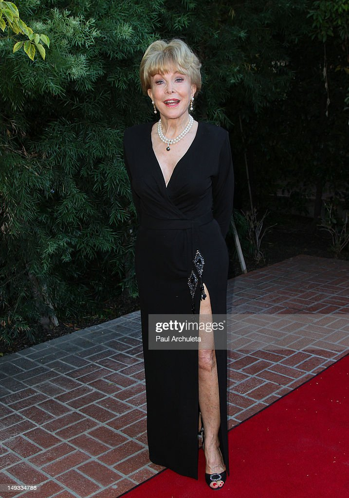 Actress Barbara Eden attends the 2012 Saturn Awards at The Castaway Event Center on July 26, 2012 in Burbank, California.