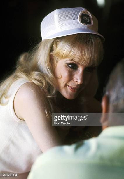 Actress Barbara Eden attends the 'Bob Hope's Desert Classic Golf Tournament' on February 3 1970 at the La Quinta Country Club in Palm Springs...