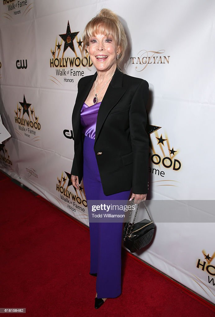 Actress Barbara Eden attends the Hollywood Walk of Fame Honors at Taglyan Complex on October 25, 2016 in Los Angeles, California.