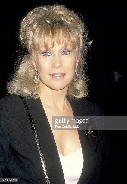 Actress Barbara Eden attends the Party for Fannie Flagg's New Book 'Fried Green Tomatoes at the Whistle Stop Cafe' on November 10 1987 at Hunter's...