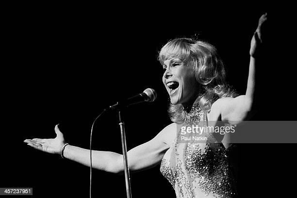 Actress Barbara Eden onstage at Poplar Creek Music Theater, Hoffman Estates, Illinois, August 3, 1980.
