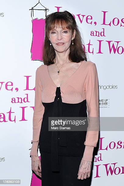 Actress Barbara Feldon attends the Love Loss And What I Wore two year celebration at B Smith's Restaurant on October 6 2011 in New York City