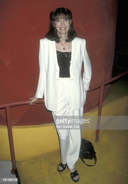 """Actress Barbara Feldon attends the """"Renee Taylor's and Joe Bologna's 32nd Wedding Anniversary"""" on August 11, 1997 at Comedy Nation Restaurant in New..."""