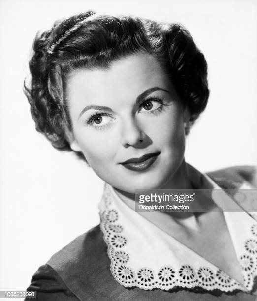 Actress Barbara Hale in a scene from the movie The Jackpot