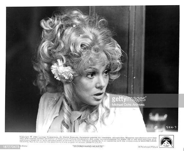 Actress Barbara Harris on set of the Paramount Pictures movie SecondHand Hearts in 1981