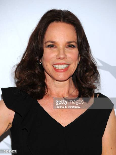 Actress Barbara Hershey attends the Eleventh Annual AFI Awards at the Four Seasons Hotel on January 14 2011 in Los Angeles California