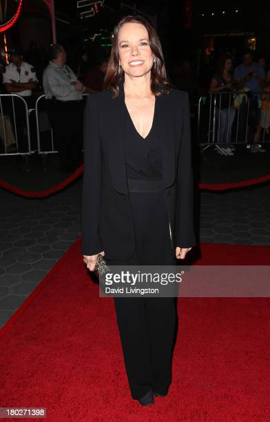 Actress Barbara Hershey attends the premiere of FilmDistrict's Insidious Chapter 2 at Universal CityWalk on September 10 2013 in Universal City...
