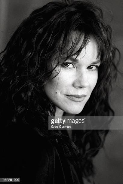 Actress Barbara Hershey is photographed for Publicity Shoot on January 1 1996 in Los Angeles California
