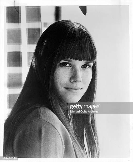Actress Barbara Hershey poses for a portrait in circa 1968