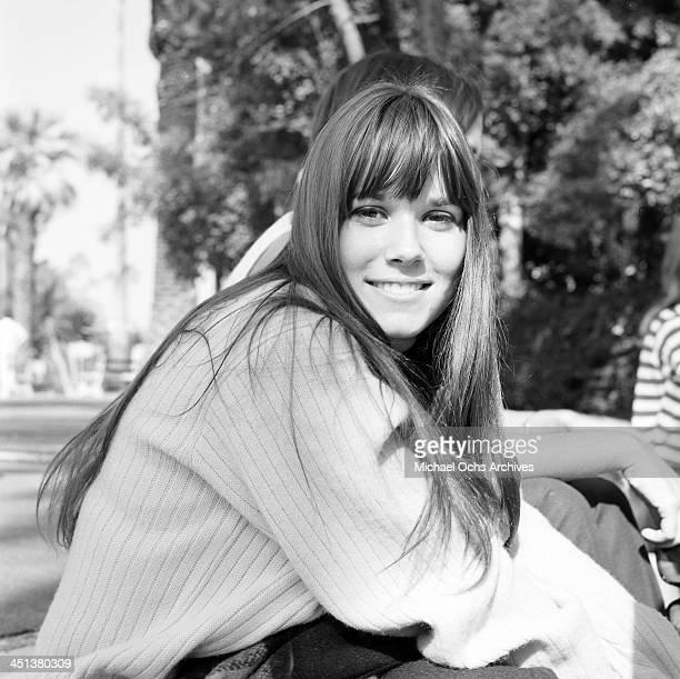 Actress Barbara Hershey poses in Los Angeles California
