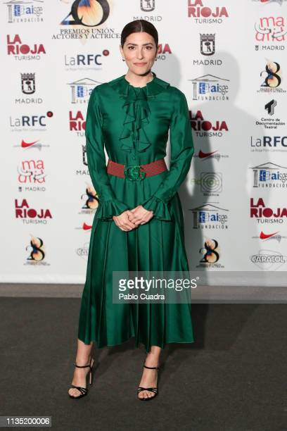 Actress Barbara Lennie attends the 28th Union de Actores awards photocall at Circo Price on March 11, 2019 in Madrid, Spain.