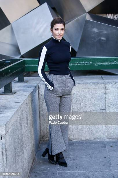 Actress Barbara Lennie attends the Petra photocall at Princesa Cinema on October 17 2018 in Madrid Spain