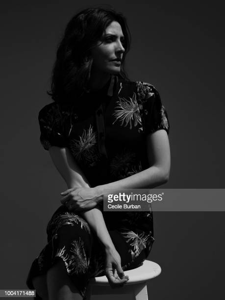 Actress Barbara Lennie is photographed for Self Assignment, on May 2018 in Cannes, France. . .