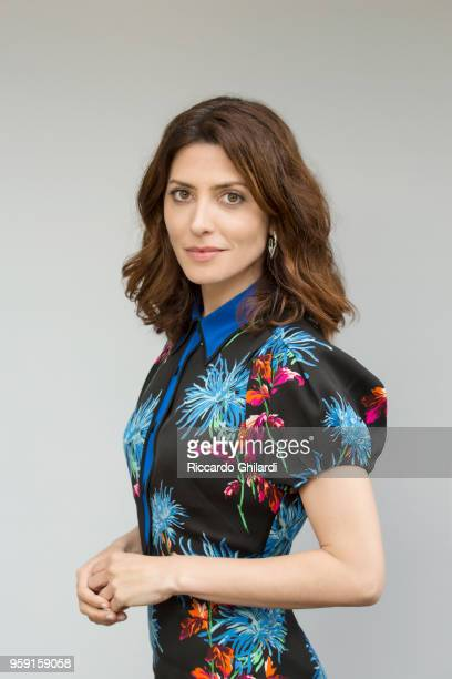 Actress Barbara Lennie is photographed for Self Assignment on May 2018 in Cannes France