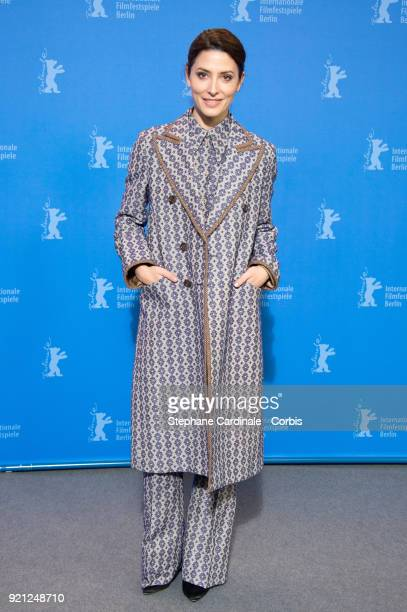 Actress Barbara Lennie poses at the 'Sunday's Illness' photo call during the 68th Berlinale International Film Festival Berlin at Grand Hyatt Hotel...