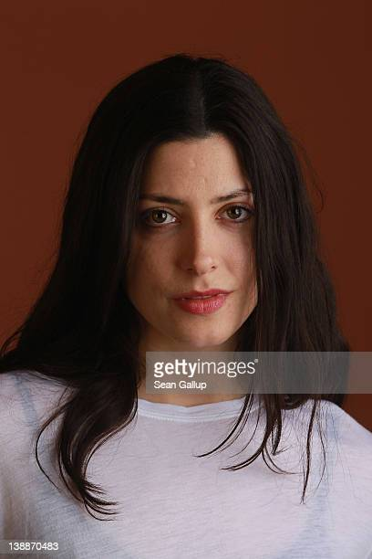 Actress Barbara Lennie poses during a portrait session for the film Dictado during the 62nd Berlinale International Film Festival on February 12 2012...
