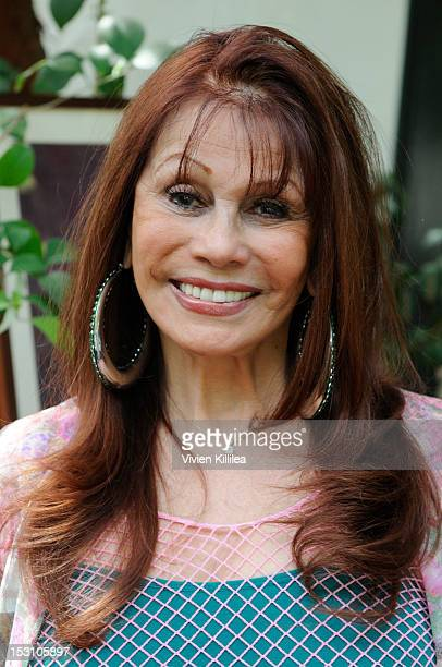 Actress Barbara Luna attends the 2nd Annual Celebrity Garden Party Fundraiser Memorabilia Auction For Motion Picture Home Hosted By Renee Taylor And...