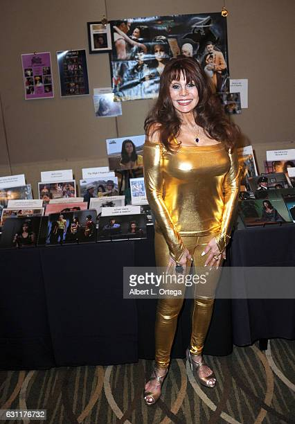 Actress Barbara Luna attends The Hollywood Show held at The Westin Los Angeles Airport on January 7 2017 in Los Angeles California